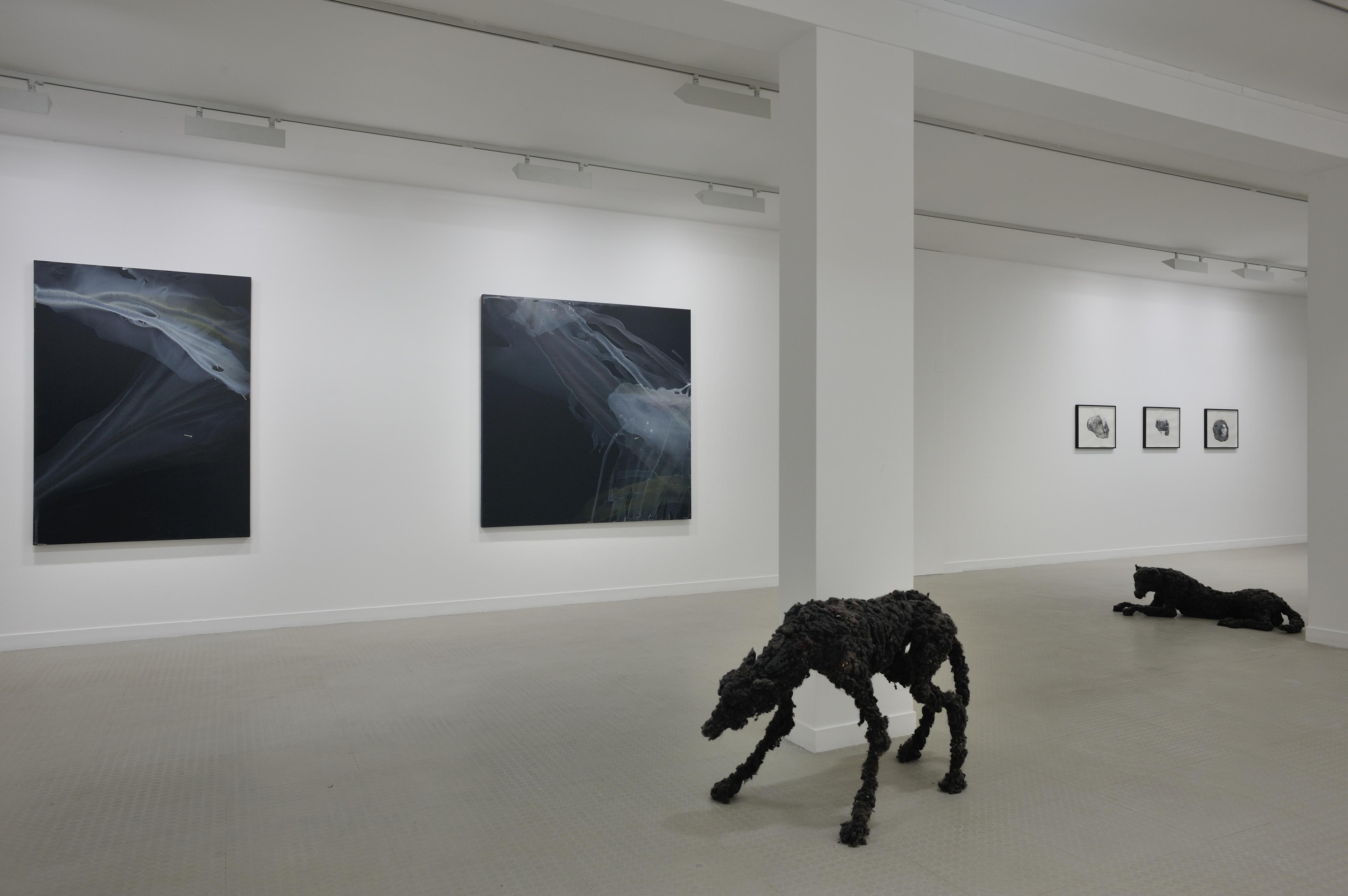 loup  – sulpture – Lionel Sabatte