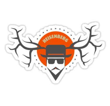 sticker-heisenberg - Breaking bad