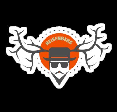 sticker-heisenberg - Breaking bad