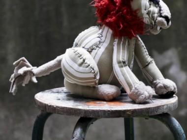 © Anne-Valérie Dupond- Sculpteur textile – lion