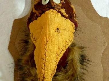 Anne-Valerie-Dupond-oiseau -trophée de chasse – Sculpteur textile