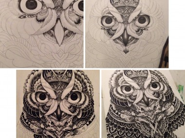 Artist Iain Macarthur illustrations – chouette