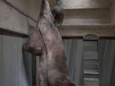 Berlinde de Bruyckere – sculpture horse
