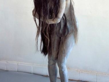 Berline de Bruyckere – Hanne, 2003 – wax, epoxy, resin, and horse hair
