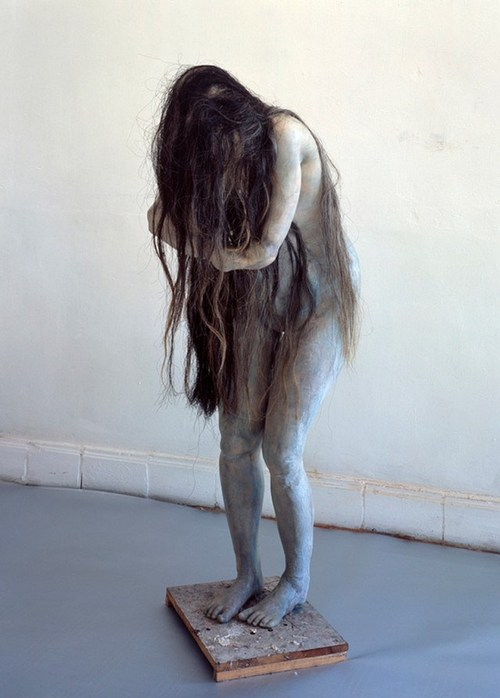 Berline de Bruyckere – Hanne, 2003 – wax, epoxy, resin, and horse hair