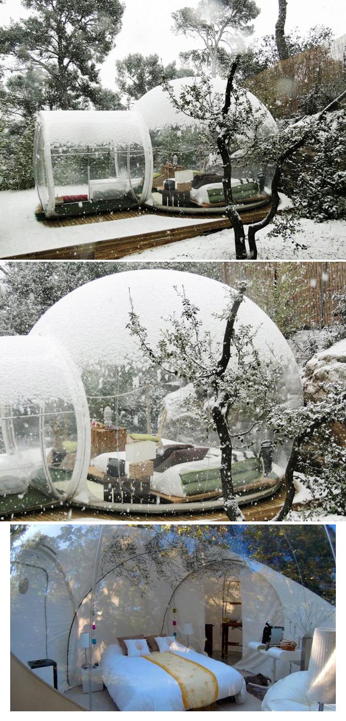 Cristal bubble room - Bubble tree