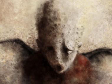 Eric Lacombe  – Sans titre 130 – 80 x 100 cm | Digital painting