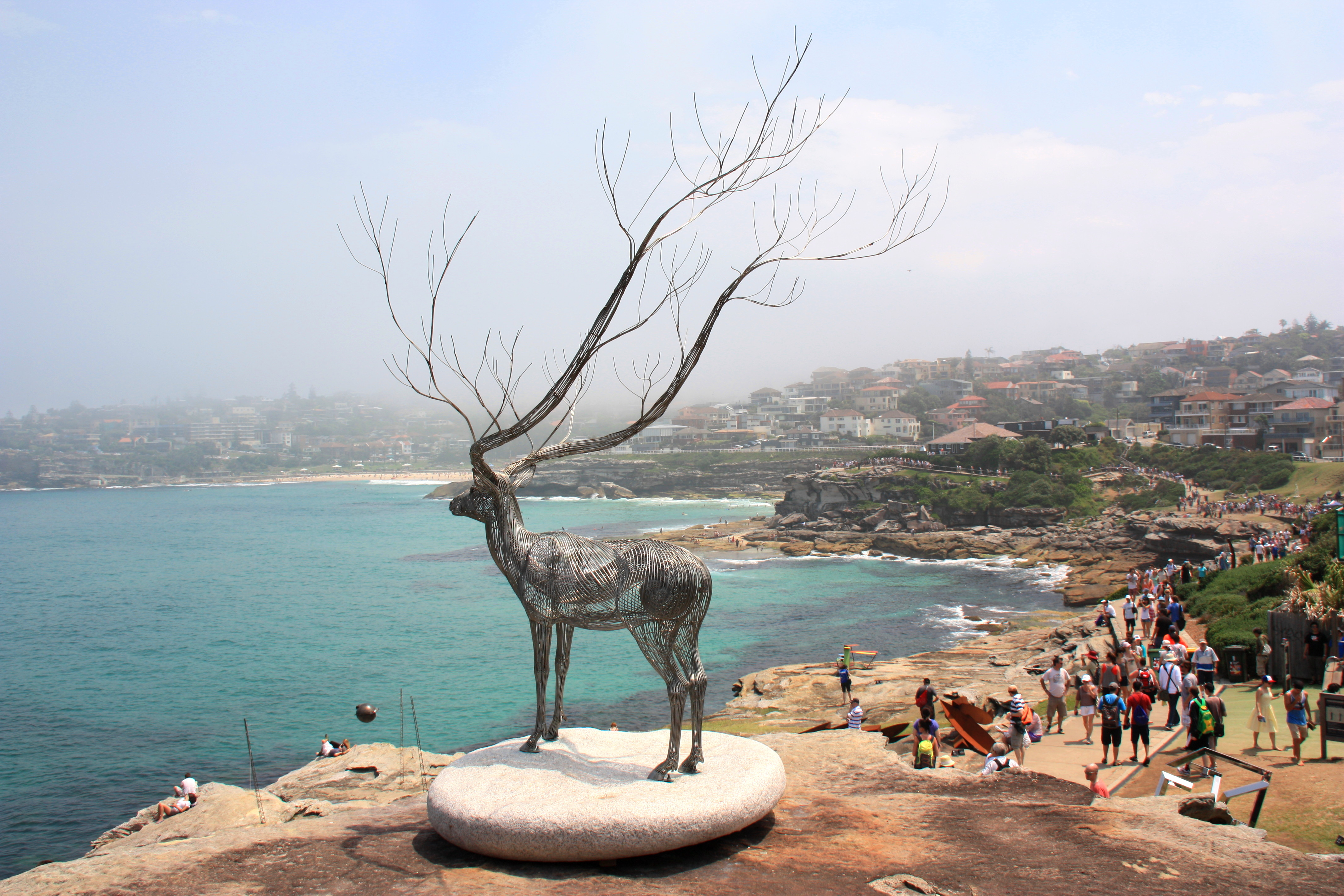 Sculpture by Byeong Doo Moon – I have been dreaming to be a tree…II