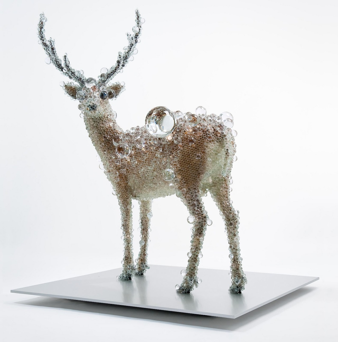 Taxidermy Sculptures by Kohei Nawa -Cerf