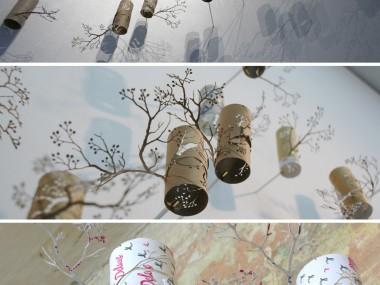 Artist Yuken Teruya toilet paper cut / Japon
