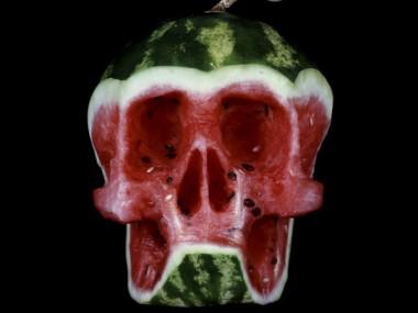 fruit-skull -Dimitri Tsykalov
