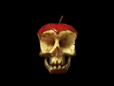 fruit-skull-Funky tête de fruit de l'artiste Dimitri Tsykalov