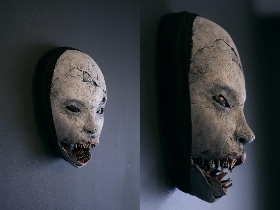mask – shark grin by torvenius