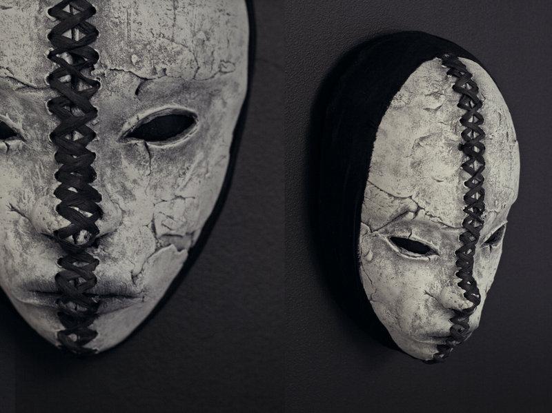 new mask – cut through by torvenius