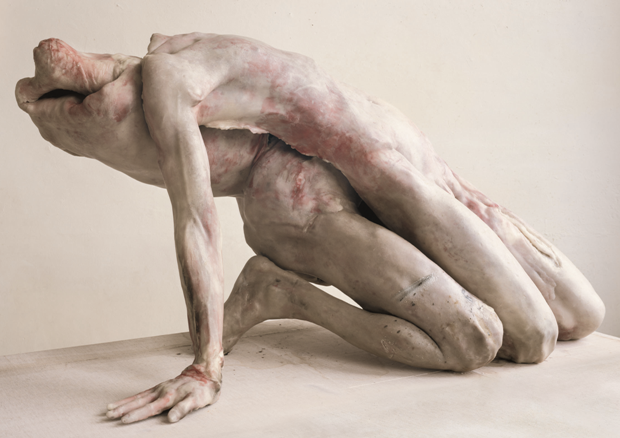 sculpture hyper realiste macabre – 'Into One Another III' by Berlinde De Bruyckere