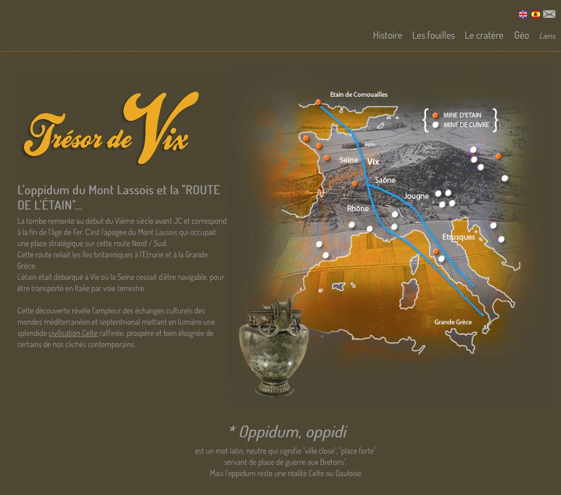 site sur le vase de vix, site princier celtes