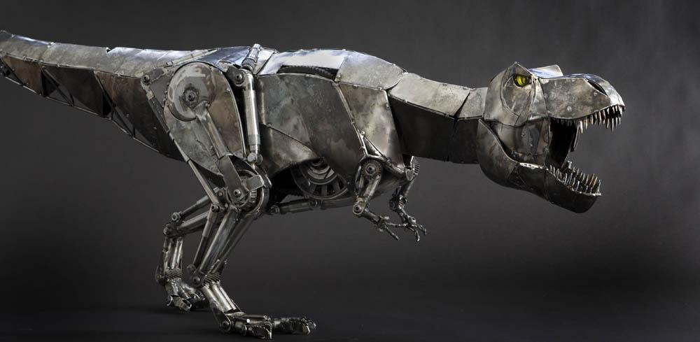 Andrew Chase – rex -metal sculptures