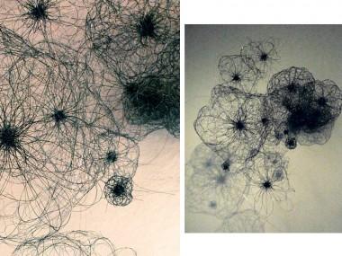 ANNE MUDGE – Untitled – Cellular – detail