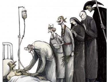 Angel Boligan – EL ULTIMO RECURSO – Social cartoon