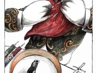 Angel Boligan cena toro – illustration