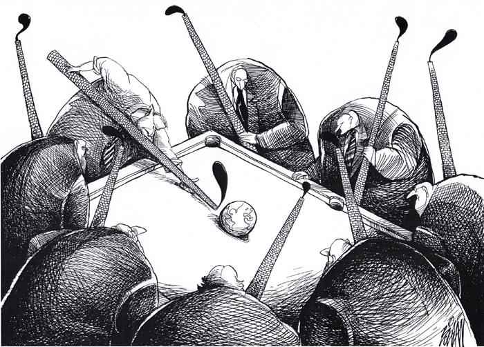 Angel Boligan illustration comic