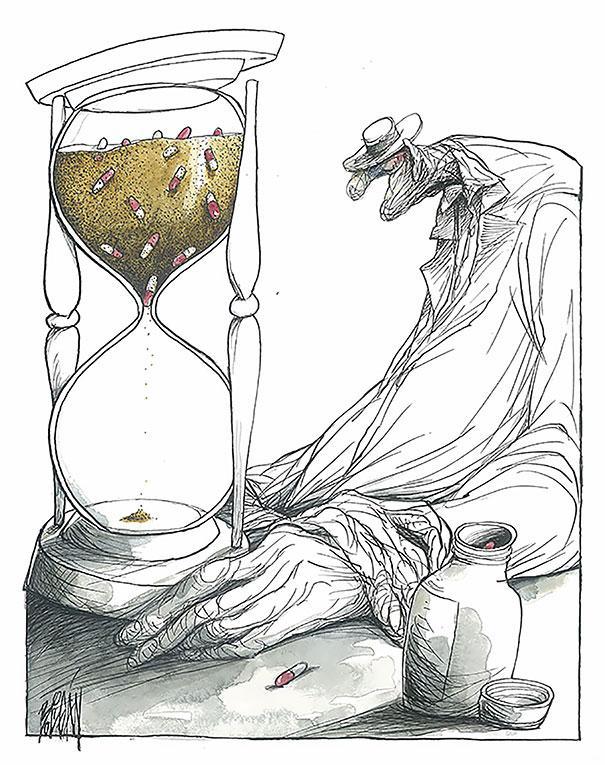 Angel Boligan illustration sociale comic
