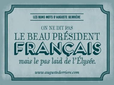 Auguste Derriere – jeu de mots