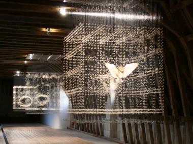 Caire Morgan -oiron2m – aerial taxidermy art