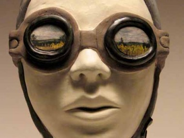 Carrieanne Hendrickson -aviator – Figurative sculptures