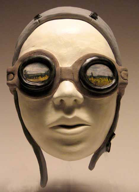 Carrieanne Hendrickson -aviator - Figurative sculptures