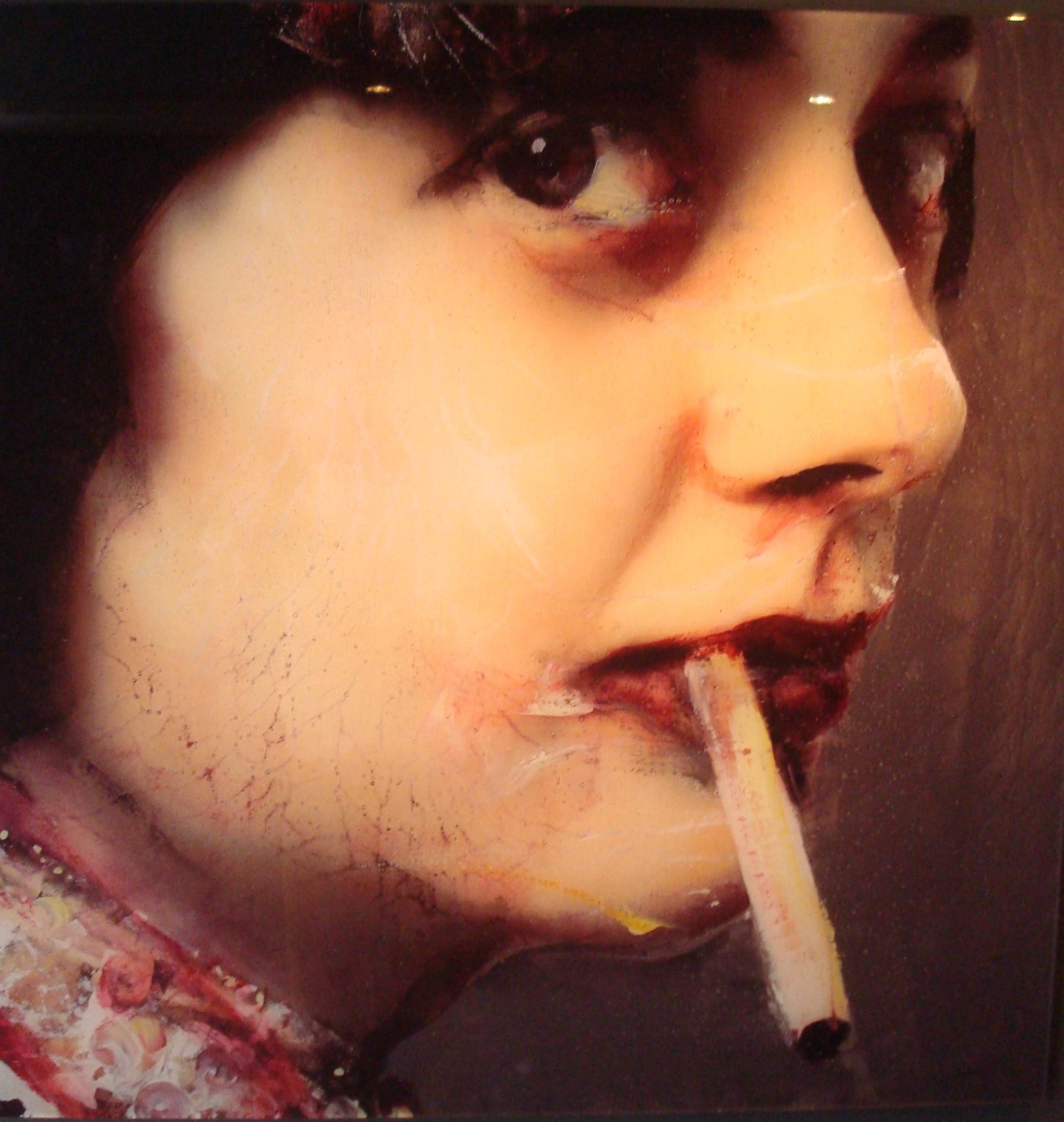 Coco Chanel -Lita Cabellut
