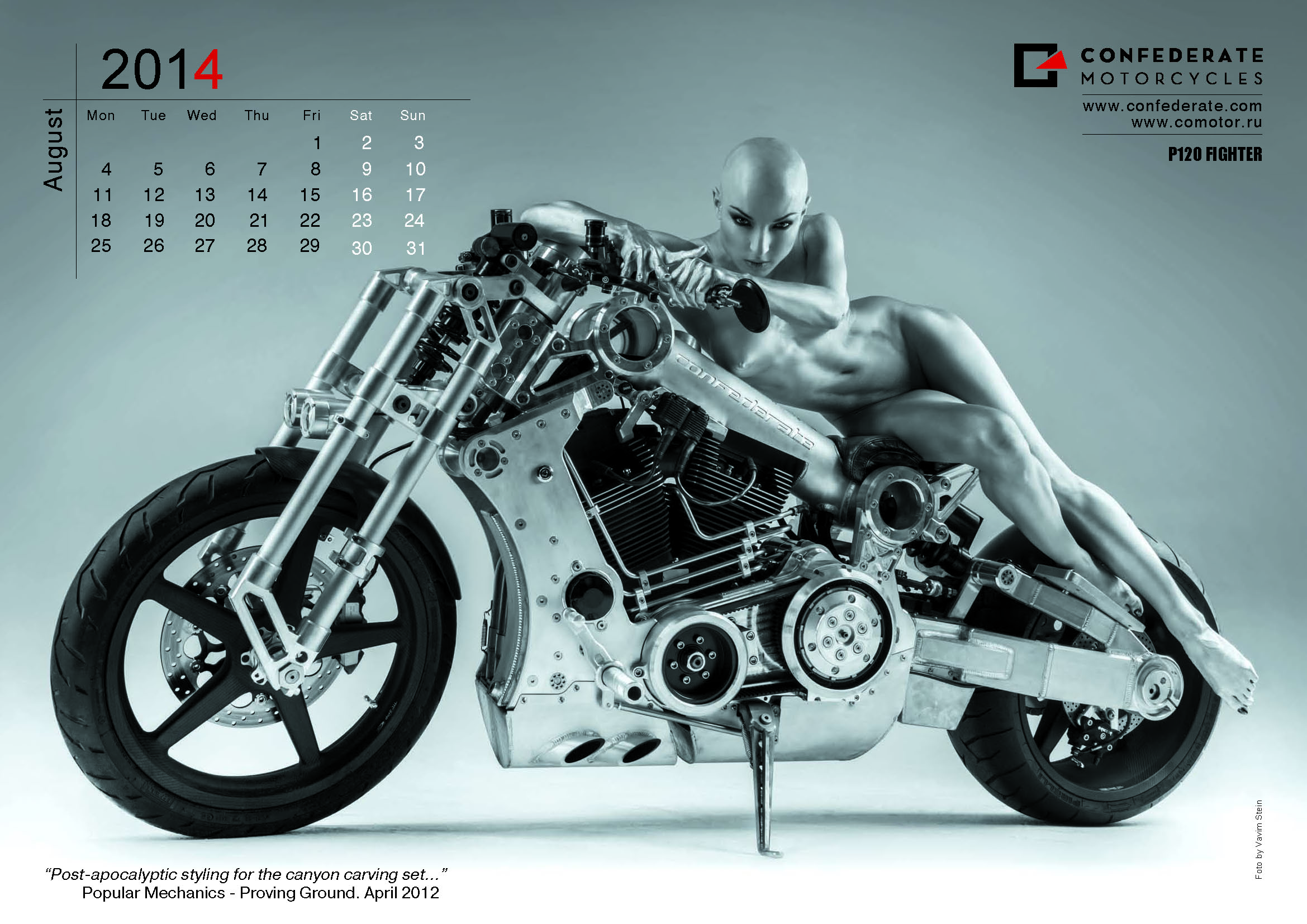 Calendrier motard 2014 - Confederate_2014_Page_09