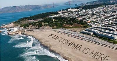 Fukushima radiation hits San Francisco