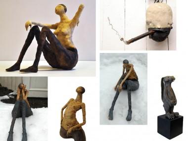 Maria Øverbye – sculptures ceramics figuratif