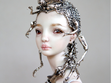 Marina Bychkova- Enchanted Doll -The Hybrid Beetle Crown