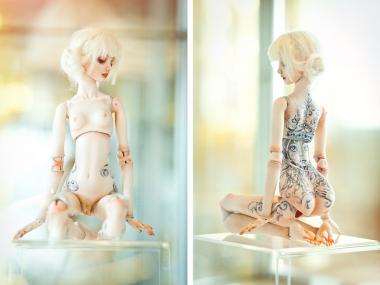 Marina Bychkova- Enchanted Doll at the Catherine's Palace in St. Petersurg