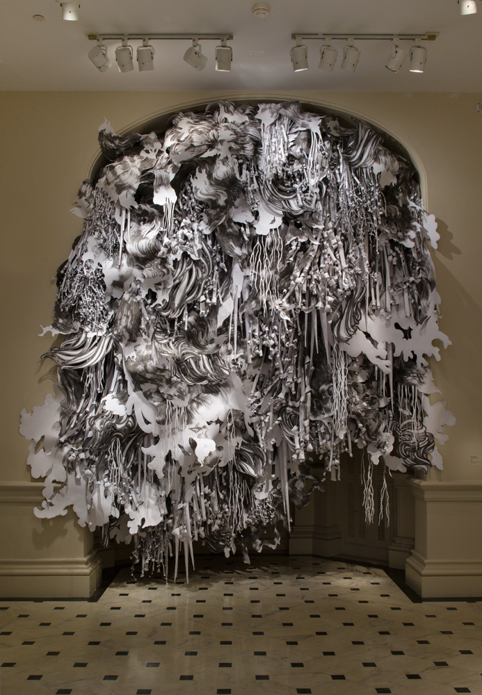 Mia Pearlman S Cut Paper Art Blog Graphiste Sculptures