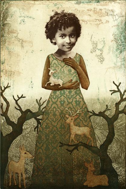 Piia Lehti – sina olet koko maailma / symbolic surrealiste art