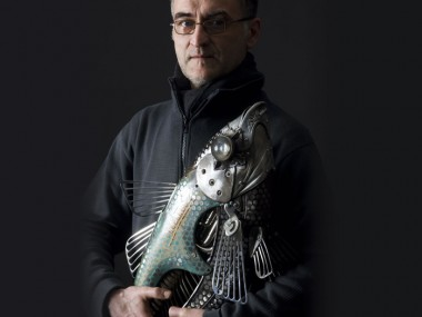 Portrait Edouard martinet – metal artist