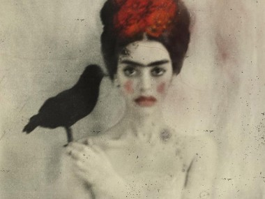 Rimel Neffati – textured poetic portrait