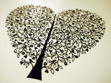 SUZY TAYLOR – Tree of Life papercut ART