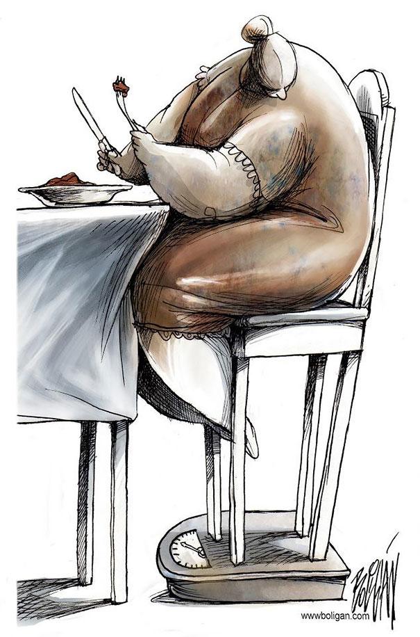 Satire sociale -cartoons-angel-boligan