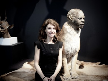 Kate Clark – taxidermie art sculpture animal / Human – portrait