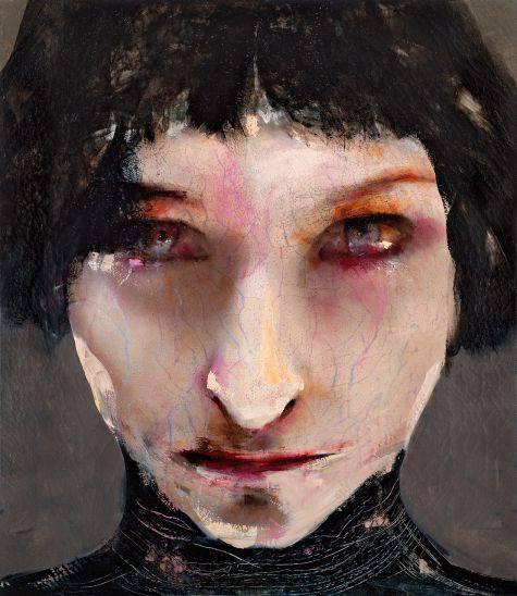 lita cabellut – portrait femmes, huile