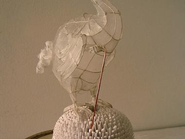 polyscene – Sculpture on Paper Tuffet