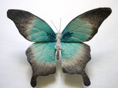 yumi-okita – Textile Creatures papillon