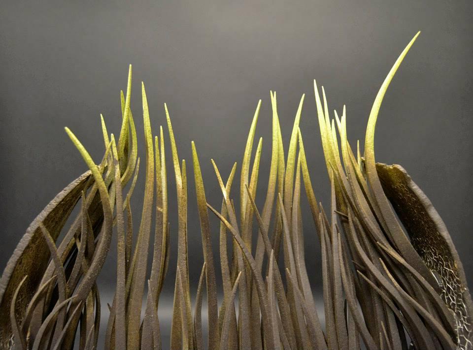 Alberto Bustos – sculptures Apnea details – sculptures ceramiques