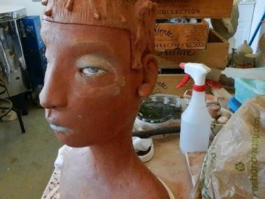 Clay & Persimmons – Sculpture figurative