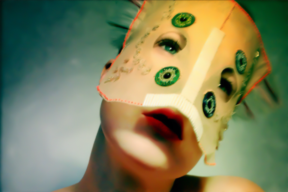 Damselfrau – pamopta  / Mask maker Artist