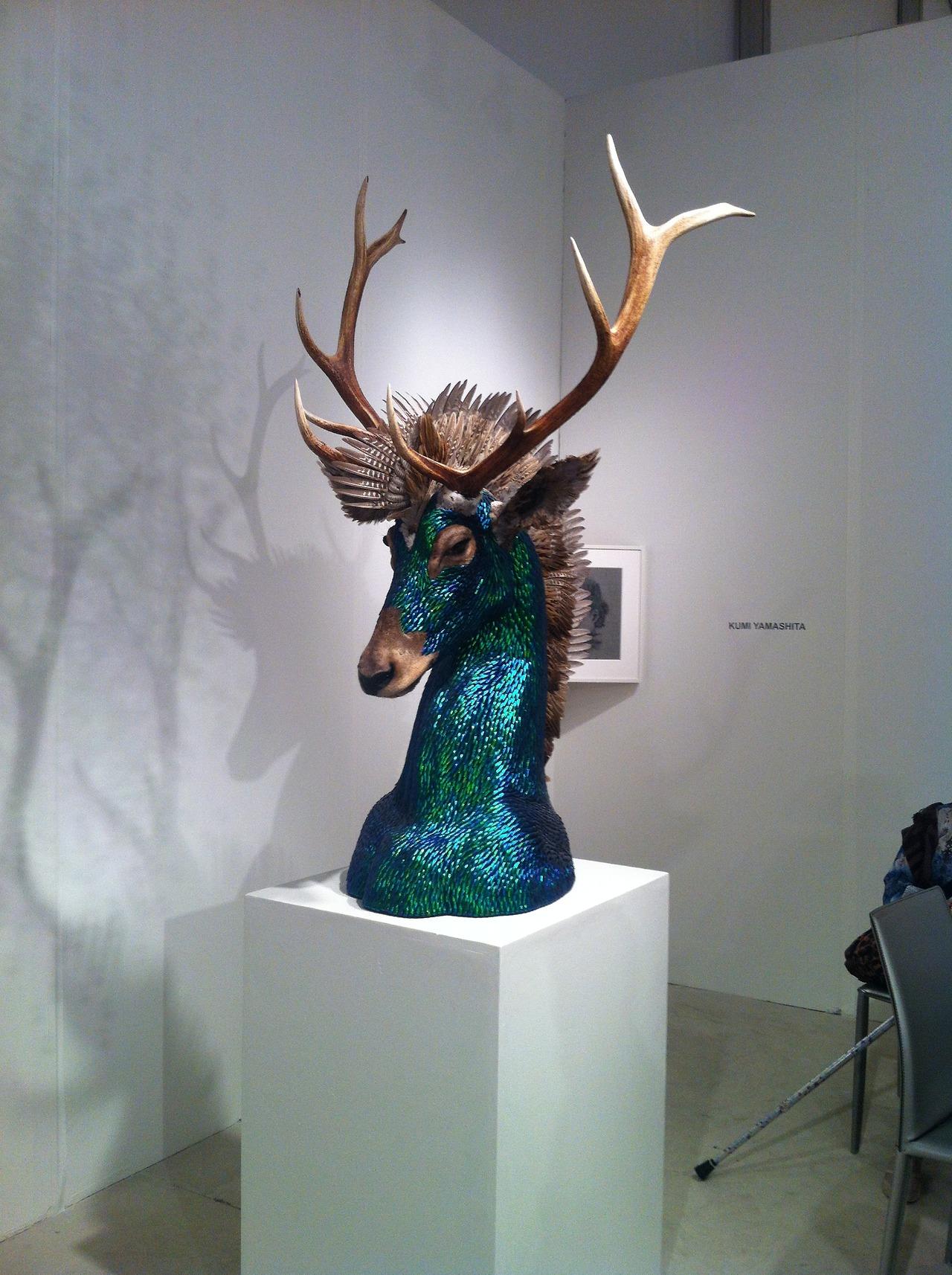 Enrique Gomez de Molina – Taxidermy Hybrid Sculptures – Cerf